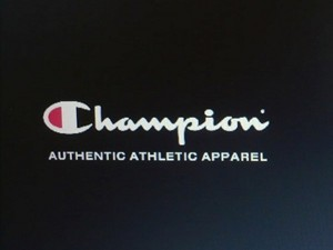 Champion authentic Atletic apparel