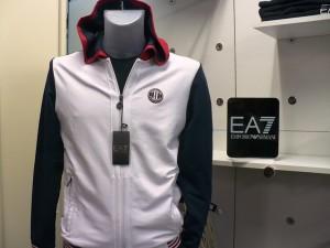 EA7 felpa cot. elast.