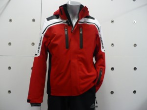 Aesse giacca uomo rossa