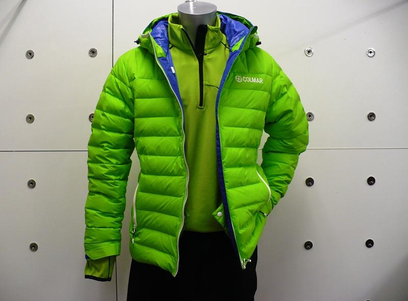 more photos 922a8 dd41c giacca colmar verde